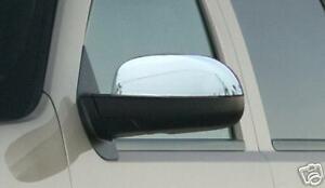 2007-2013 Chevy Silverado Tahoe GMC Sierra Yukon Chrome Mirror Covers Overlays