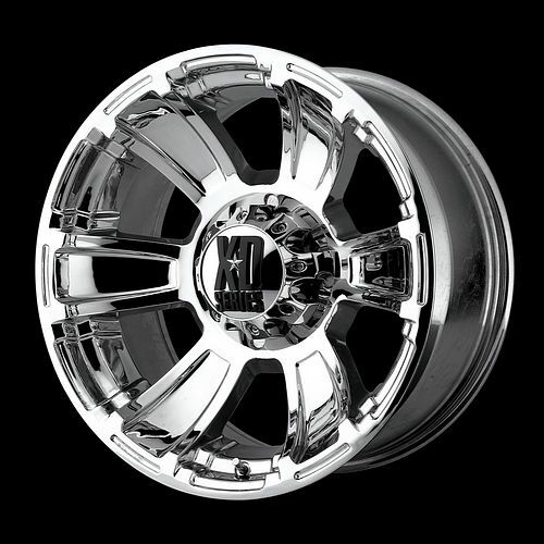 Series XD796 REVOLVER Chrome OFFROAD FORD DODGE Truck Wheels RIMS SET