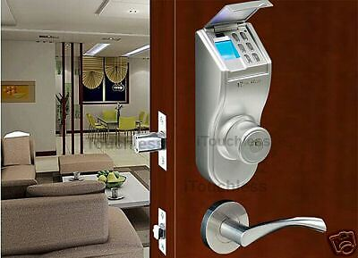 Itouchless - Bio-matic Deadbolt Fingerprint Door Lock