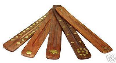 1 x  Räucherbrettchen für Räucherstäbchen - Räucherstäbchenhalter incense sticks