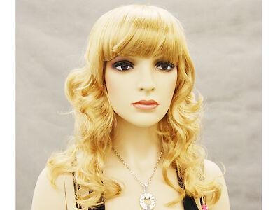 Female Wig Mannequin Head Hair for Mannequin #WG T8C