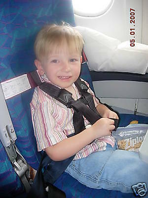 Rent a CARES/Kids Fly Safe Airplane Harness Seatbelt CARES Rental