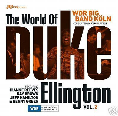 CD Wdr Big Band Köln World Of Duke Ellington with Diana Reeves